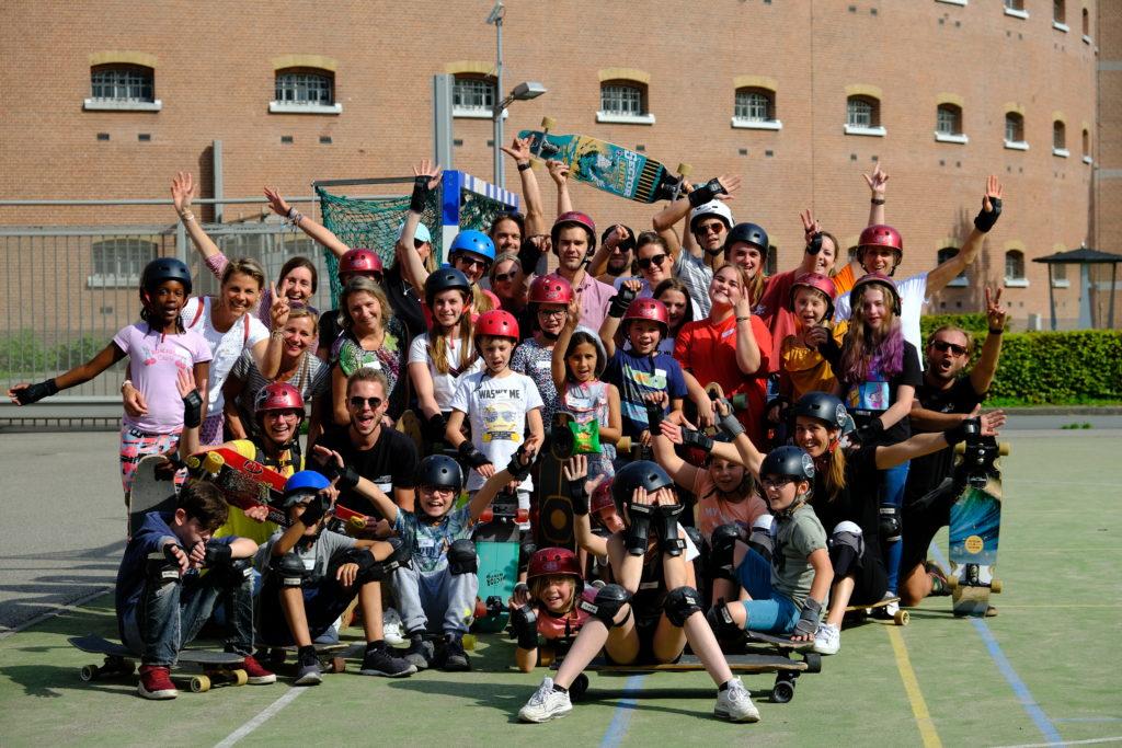 Good Days impact day Dr. de Visserschool en Rietvink Ride Along skate clinic (11)