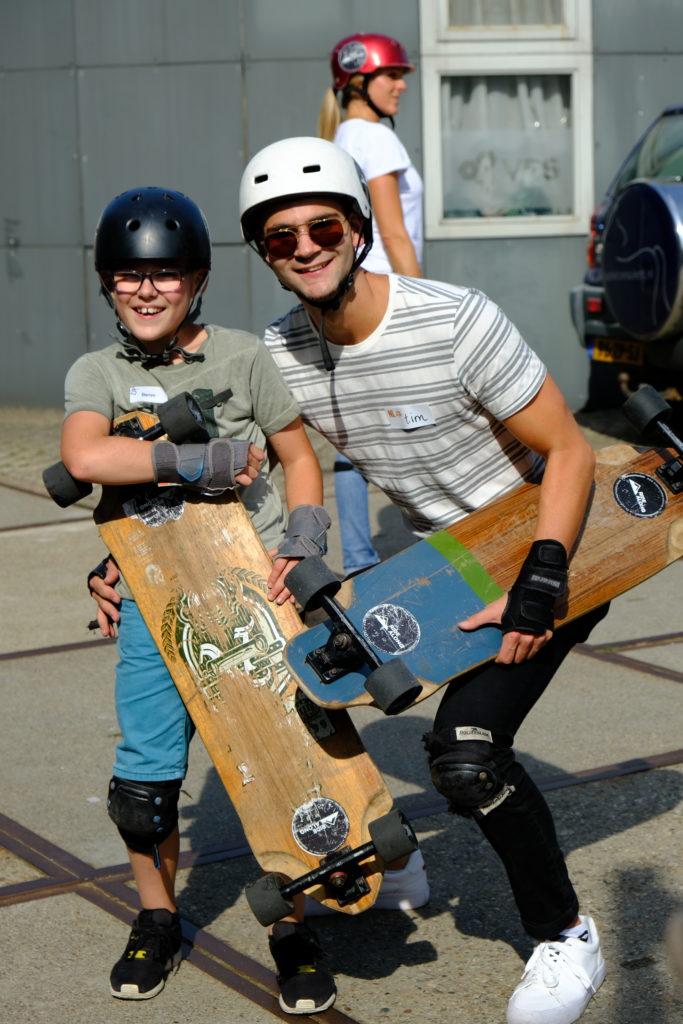 Good Days impact day Dr. de Visserschool en Rietvink Ride Along skate clinic (14)