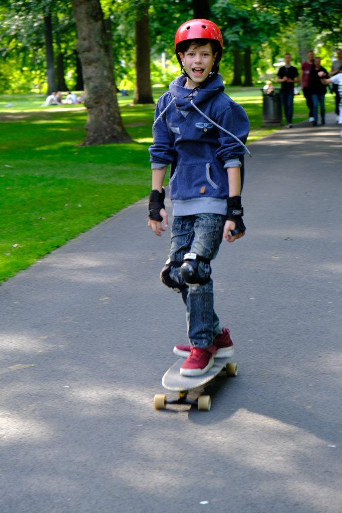 Good Days impact day Dr. de Visserschool en Rietvink Ride Along skate clinic (18)