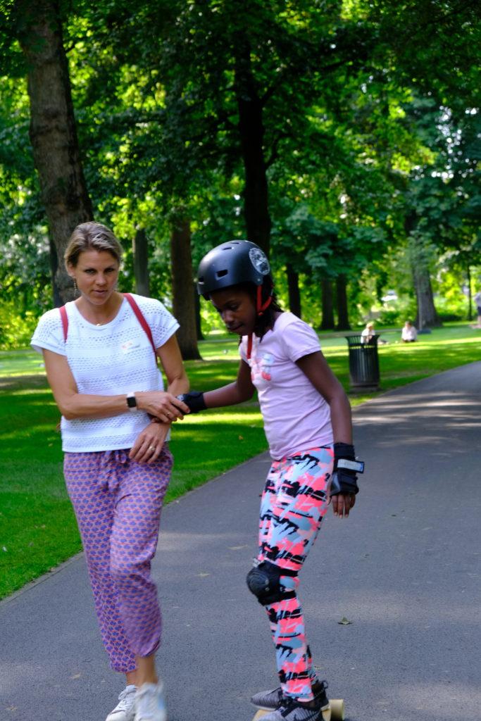 Good Days impact day Dr. de Visserschool en Rietvink Ride Along skate clinic (19)