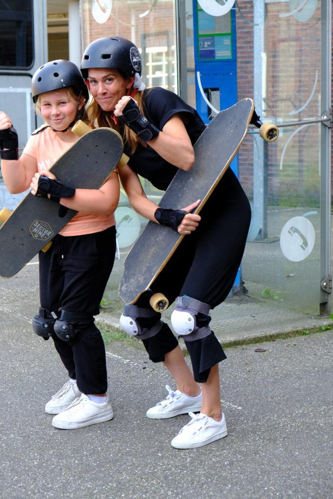 Good Days impact day Dr. de Visserschool en Rietvink Ride Along skate clinic (6)