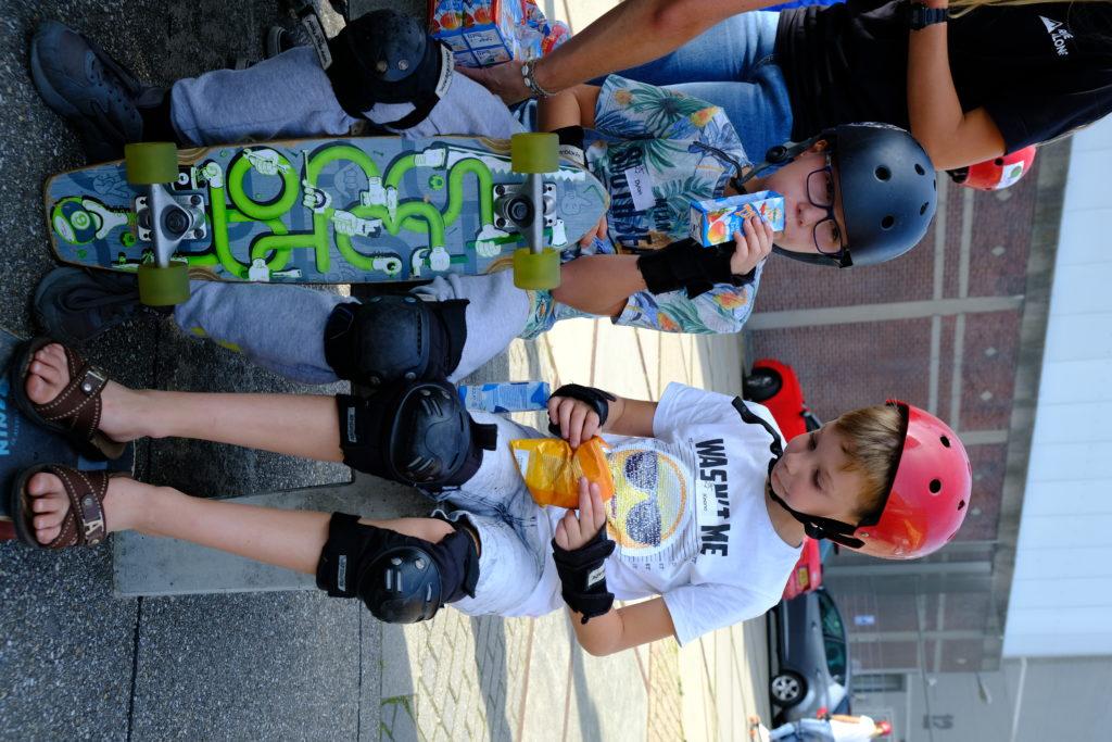 Good Days impact day Dr. de Visserschool en Rietvink Ride Along skate clinic (7)